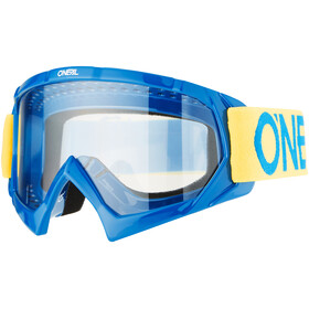 ONeal B-10 goggles Solid geel/blauw